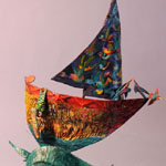 Boat_Parrots and Red Sail 02 - Ardyn Griffin